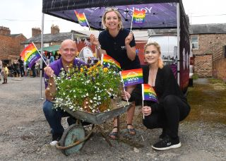 Blooming beautiful family fun day to launch community garden with support from York's Ultra Fibre Optic from TalkTalk